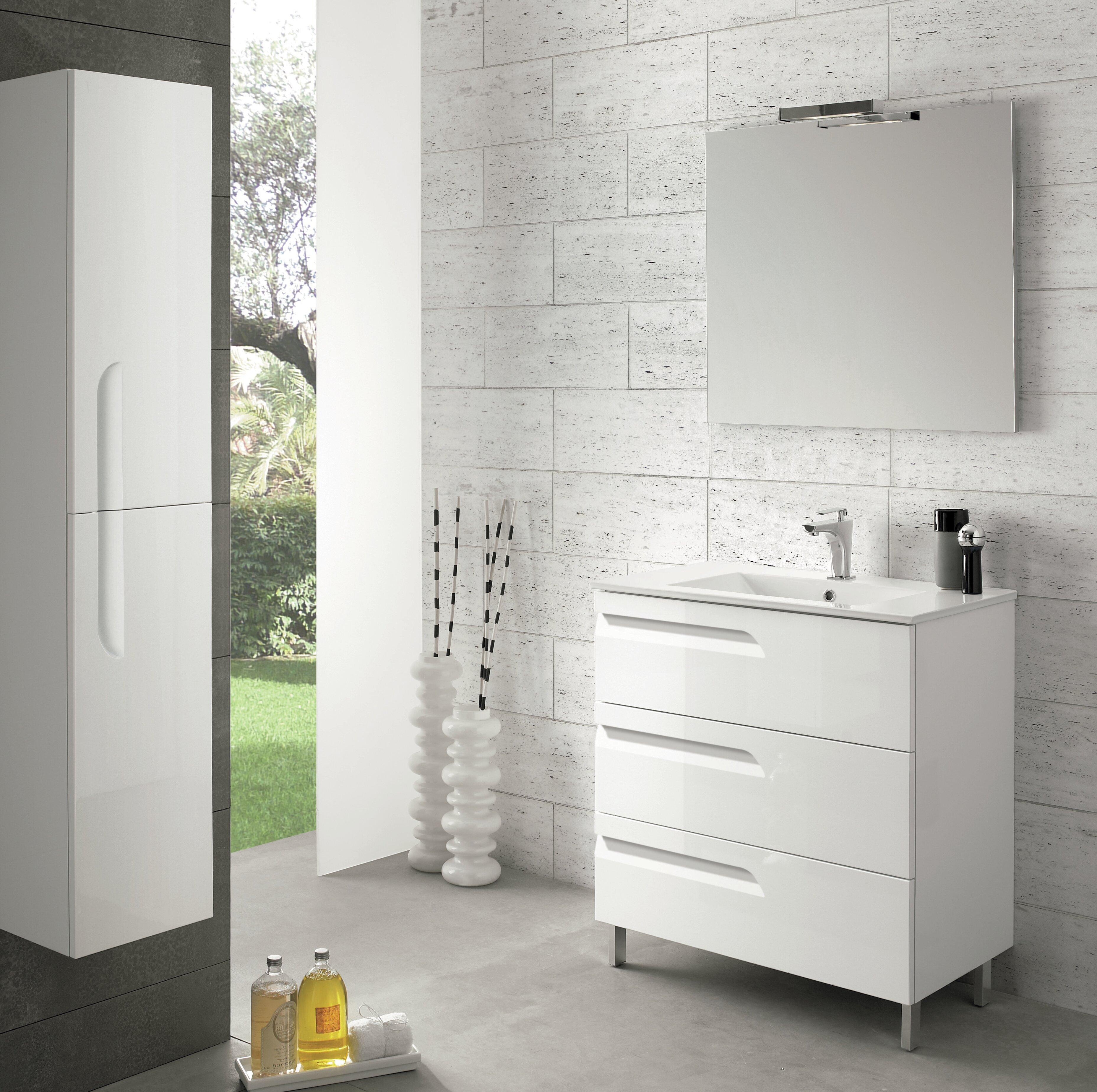 Brayden Studio Oberlin 39 Single Bathroom Vanity Set Wayfair