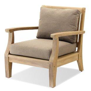 Forever Patio Miramar Teak Patio Chair wi..