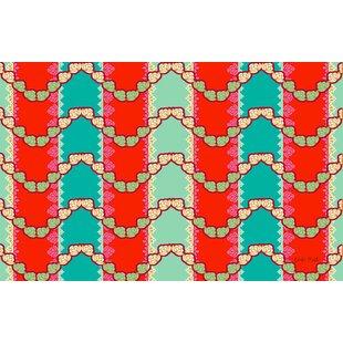 Stripe Mint Area Rug byManual Woodworkers & Weavers