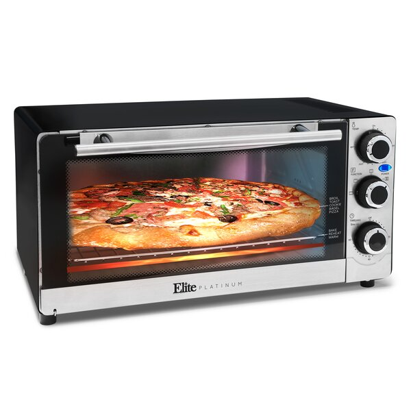 Elite By Maxi Matic 6 Slice Convection Toaster Oven