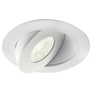 Read Reviews Multi Directional 4.5 LED Recessed Lighting Kit By Bazz