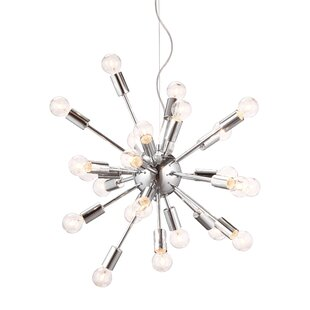 dCOR design Pulsar 24-Light Chandelier