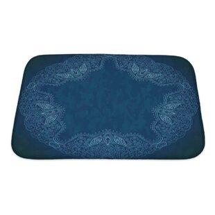 Cappa Ornamental Lace Pattern Bath Rug