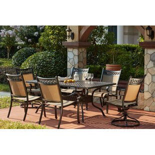 Darby Home Co Wabon Traditional 7 Piece Dining Set