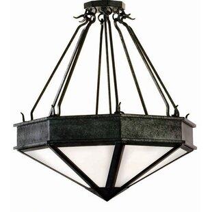 2nd Ave Design Rock 4-Light Bowl Pendant