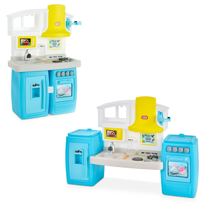 Little Tikes Tasty Jr Bake N Share Kitchen Set Reviews Wayfair