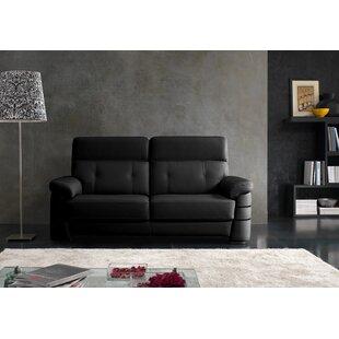 Greenhorn Leather Sofa By Wade Logan