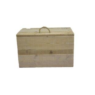 Scrap Manufactured Wood Box By Gracie Oaks