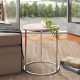Rosie Frame End Table by Caracole Classic