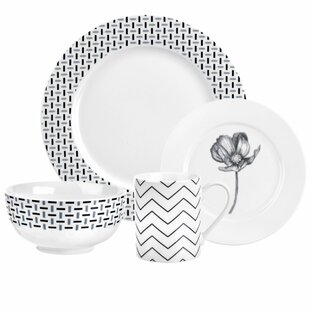 Stella 16 Piece Dinnerware Set