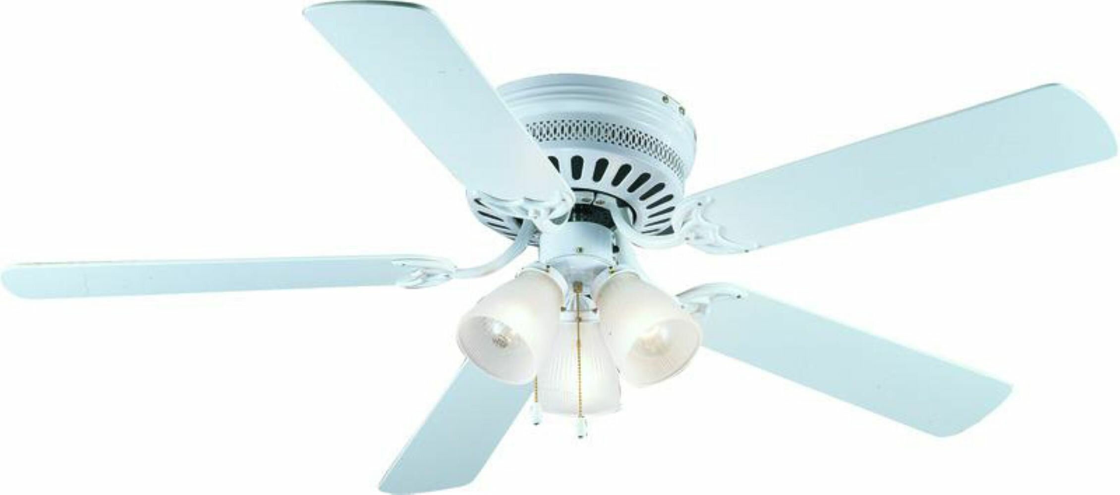 Hardware House 52 5 Blade Standard Ceiling Fan With Pull Chain And Light Kit Included Reviews Wayfair