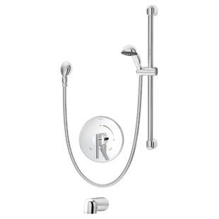 Symmons Dia Pressure Balance Tub/Hand Shower System with Lever Handle