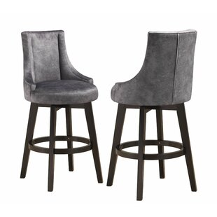 Rhett 30 Swivel Bar Stool (Set of 2)