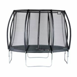 Game On Sport 10' Backyard: Above Ground Trampoline With Safety Enclosure By Freeport Park
