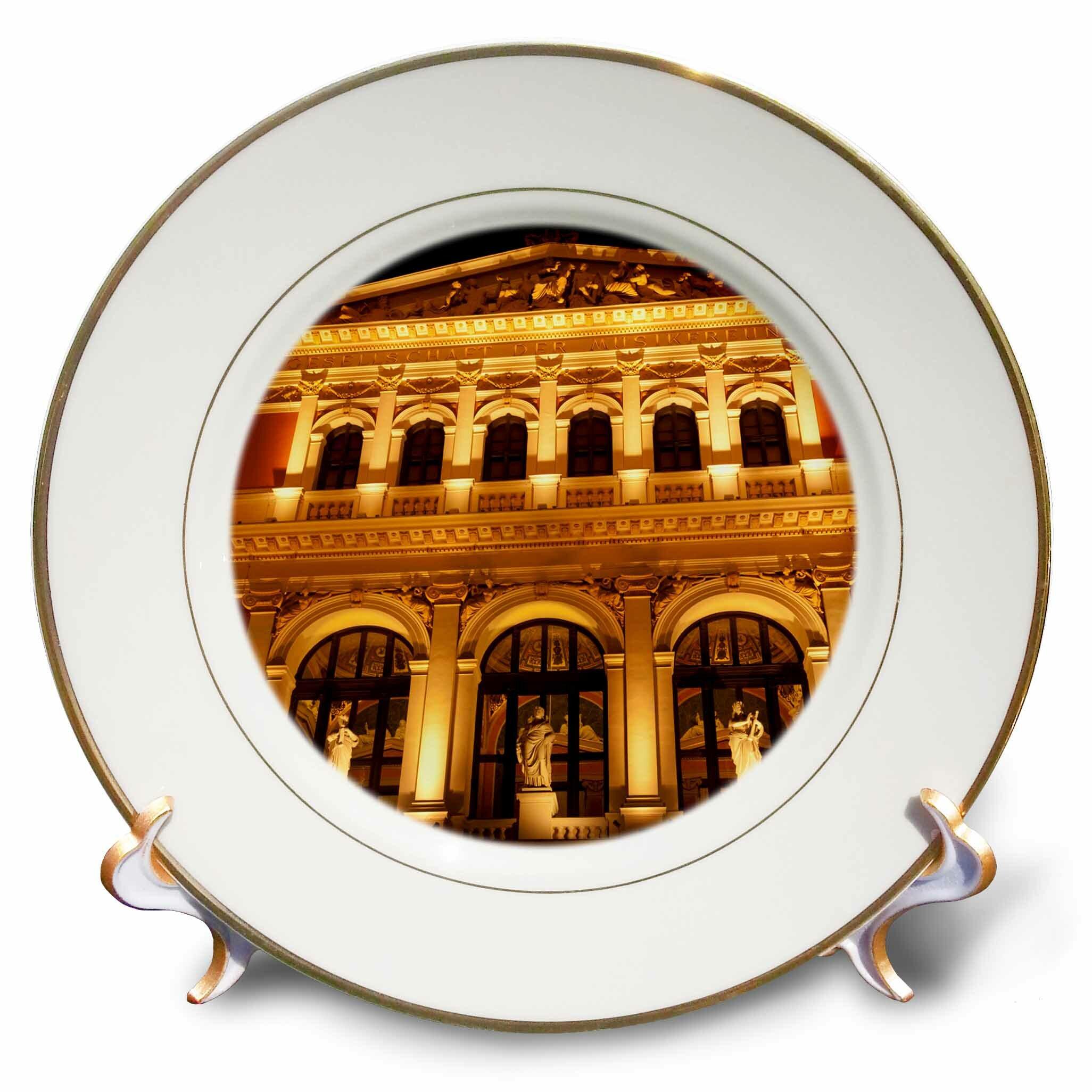 East Urban Home Austria Vienna Music Hall Philharmonic Orchestra Richard Duval Porcelain Decorative Plate Wayfair