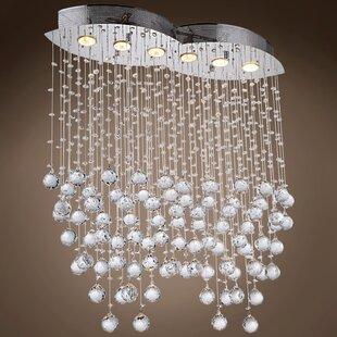 Drops of Rain 6-Light Cluster ..