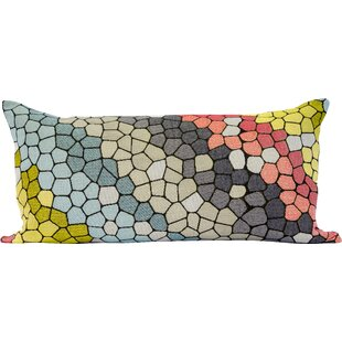Kathrine Cobblestone Decorative Lumbar Pillow