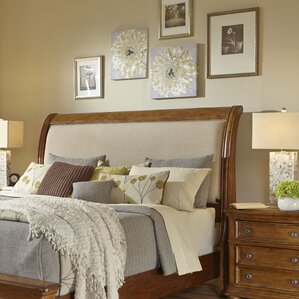 paxton upholstered sleigh headboard paxton upholstered sleigh headboard by samuel lawrence - Samuel Lawrence Furniture