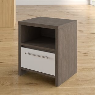 Best Marylou 1 Drawer Nightstand By Zipcode Design