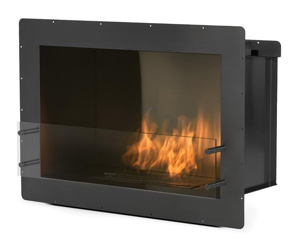 Single Sided Bio Ethanol Fireplace Insert