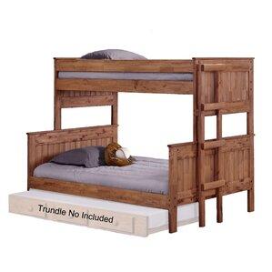 chretien stackable twin over full bunk bed