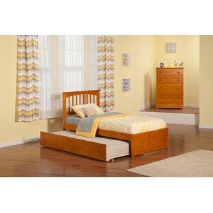 Wasilewski Platform Bed with Trundle