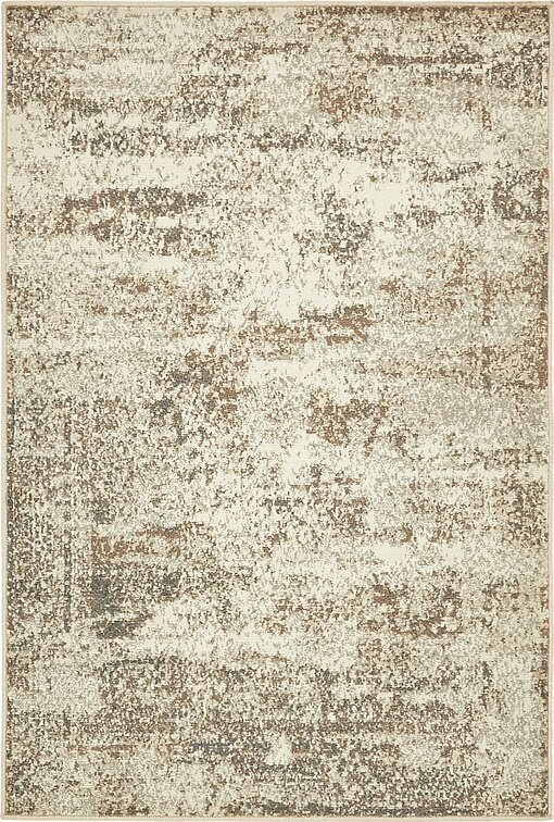Forcalquier Abstract Cream Area Rug
