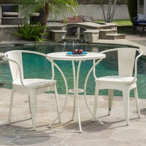 Biles 3 Piece Bistro Dining Set