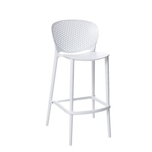 Londono Stackable Bar Stool (Set of 4) Latitude Run