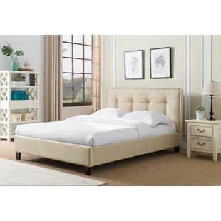 Wrought Studio Almaguer Upholstered Platform Bed