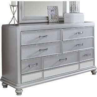 Willa Arlo Interiors Guillaume 7 Drawer Dres..