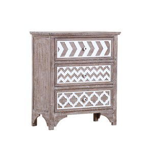 Coggan 3 Drawer Chest By Bloomsbury Market