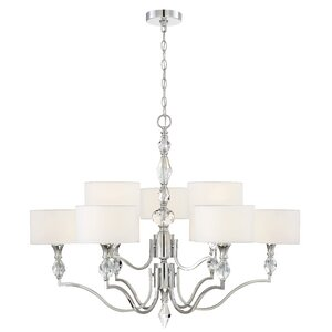 Evi 9-Light Drum Chandelier