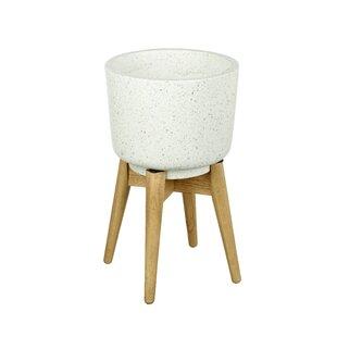 Tillman Concrete Plant Pot By Mikado Living