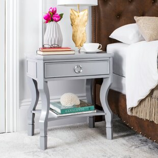 Rowe 1 Drawer Nightstand by Beachcrest Home