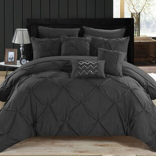 5a8b32a11e2 Black   Gray   Silver Comforters   Sets You ll Love