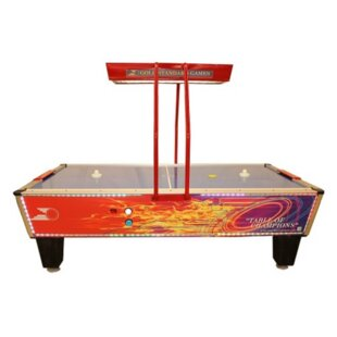 Flare Home Elite 8.3 Air Hockey Table with Compact Overhead Light