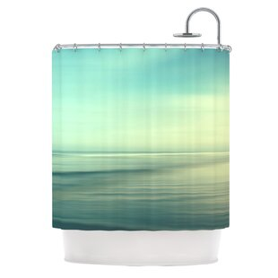 Beach Polyester Single Shower Curtain