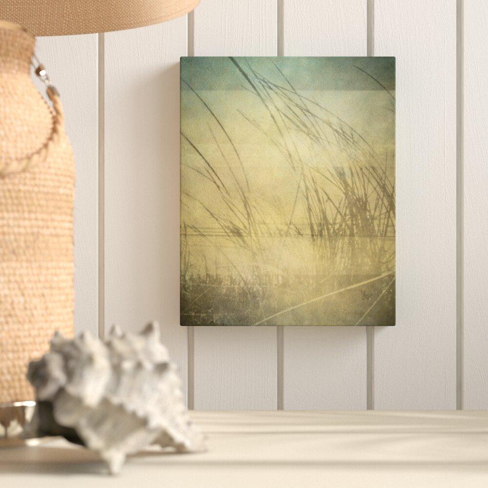 Highland Dunes \'Sandgrass\' Graphic Art on Wrapped Canvas | Wayfair