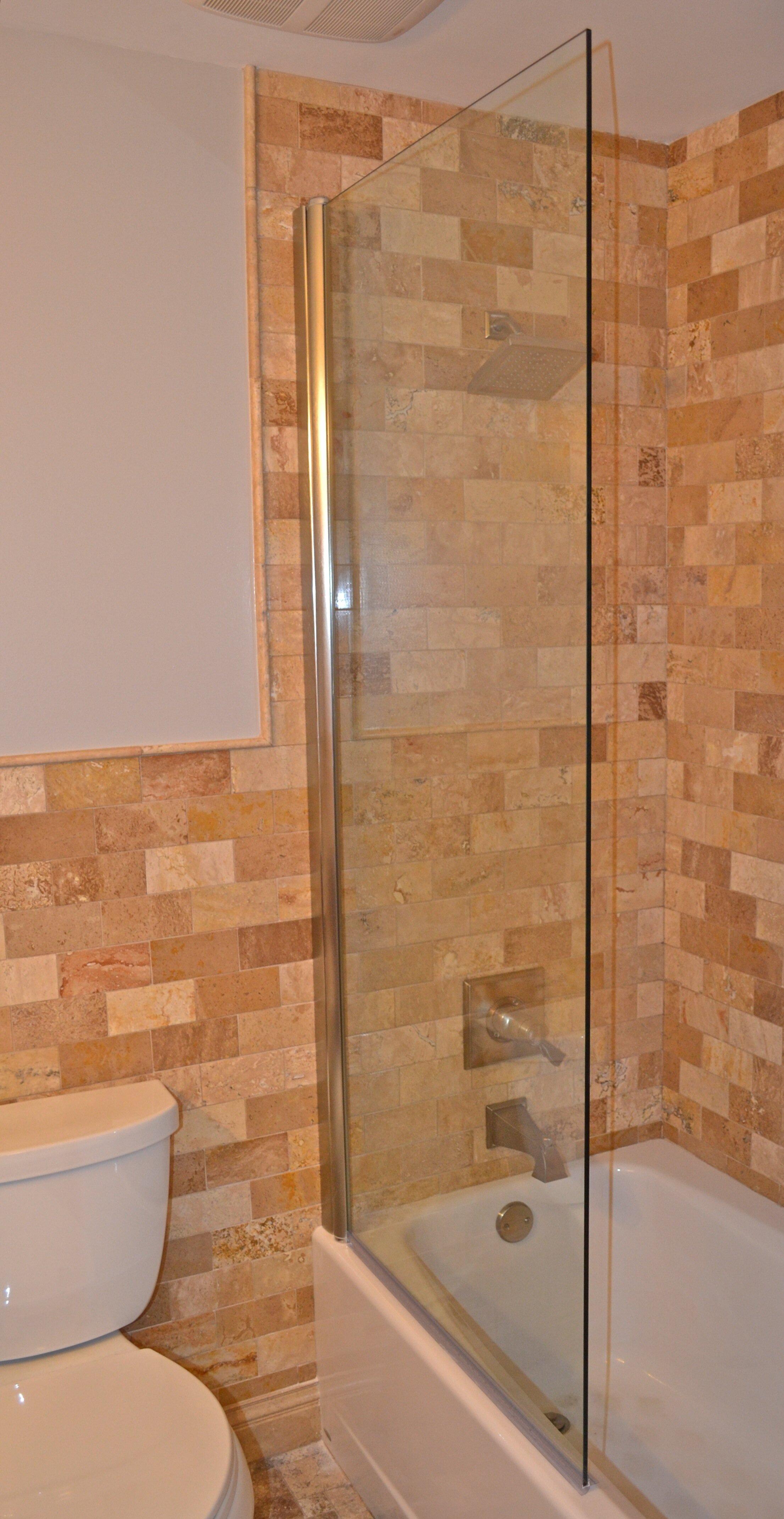 Ark Showers  Pivot Semi Frameless Tub Door Wayfair