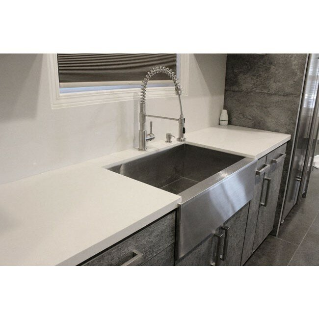 Ariel 30 L X 21 W Stainless Steel Farmhouse Kitchen Sink