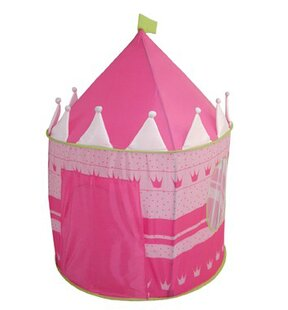 Castle Pop-Up Play Tent with Carrying Bag ByPhoenix Group AG