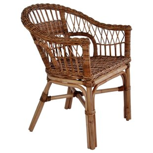 Bay Isle Home Rattan Dining Chairs