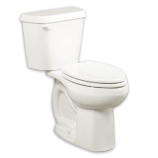 Inexpensive Colony 1.6 GPF Elongated Two-Piece Toilet (Seat Not Included) By American Standard