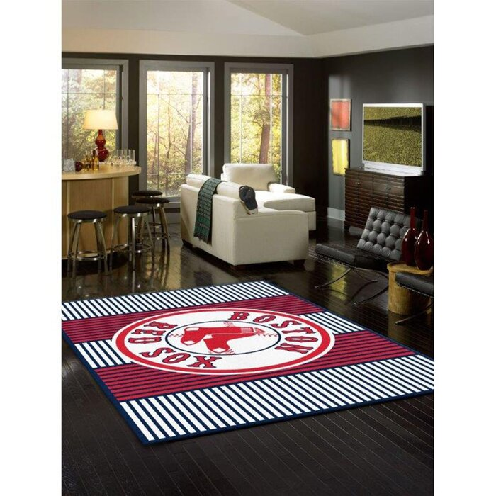 New York Yankees Champion Red Area Rug