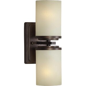 Melbourne 2-Light Wall Sconce  sc 1 st  Wayfair & Sconces Youu0027ll Love | Wayfair azcodes.com