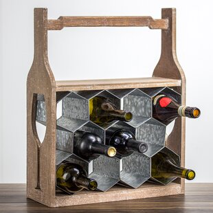 Shawnta 11 Floor Wine Rack by Gracie Oaks