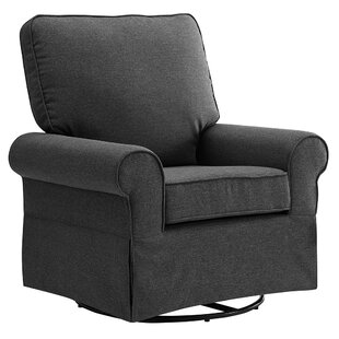Best Sickler Swivel Glider By Harriet Bee