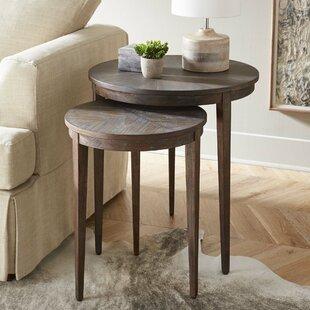 Maiden Lane 2 Piece Nesting Tables by Brayden Studio