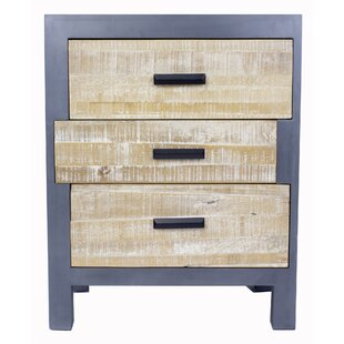 Flavia 3 Drawer Accent Chest